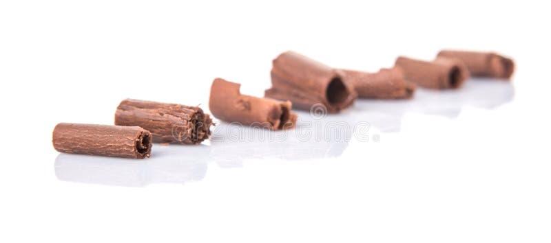 Download Il cioccolato arriccia VII fotografia stock. Immagine di mangi - 56887656