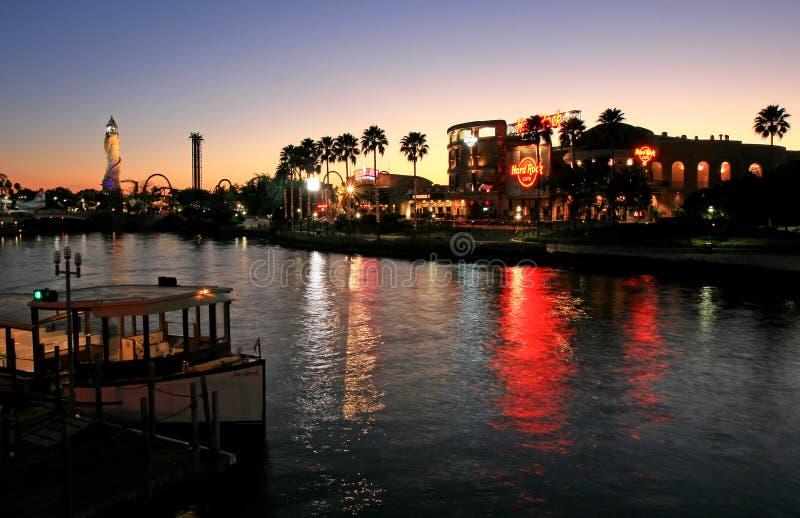 Il Citywalk allo studio universale Orlando Florida immagini stock
