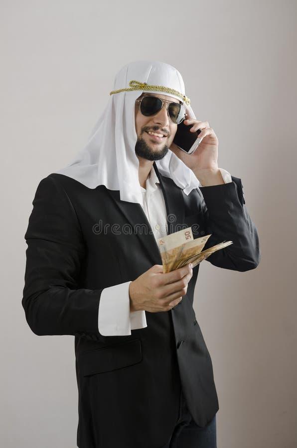 Il cliché arabo dell'uomo immagini stock libere da diritti