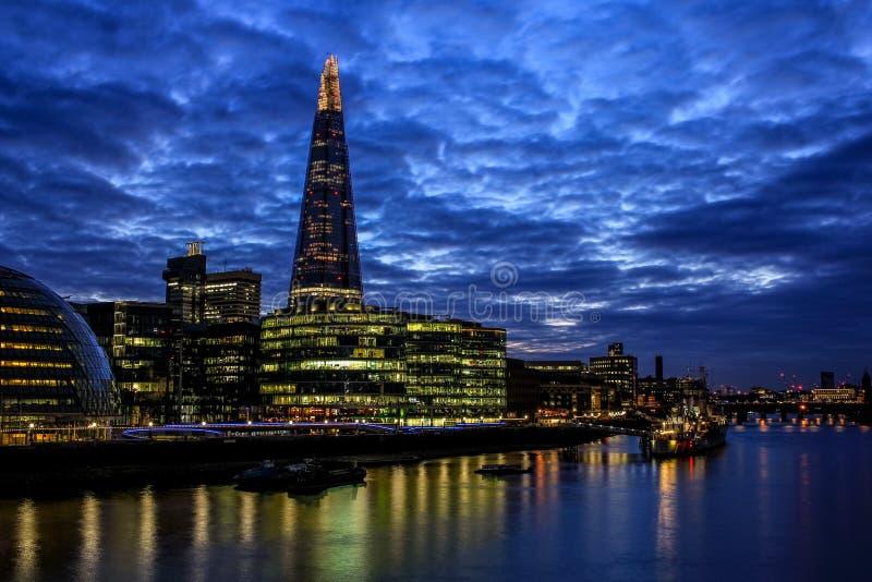 Il coccio e più Londra immagini stock