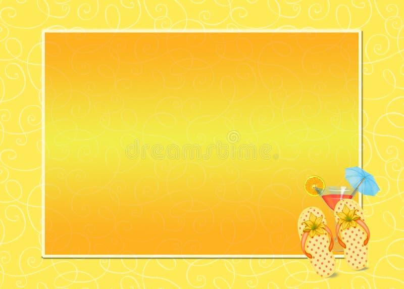 Il cocktail con lanciare-lancia il blocco per grafici royalty illustrazione gratis