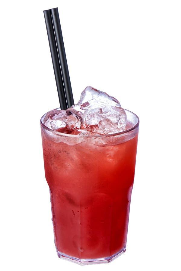 Il cocktail Rossini ha isolato fotografie stock libere da diritti