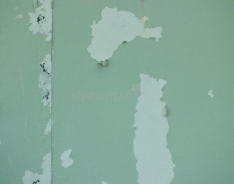 Il colore della casa sta pelando fotografia stock libera da diritti