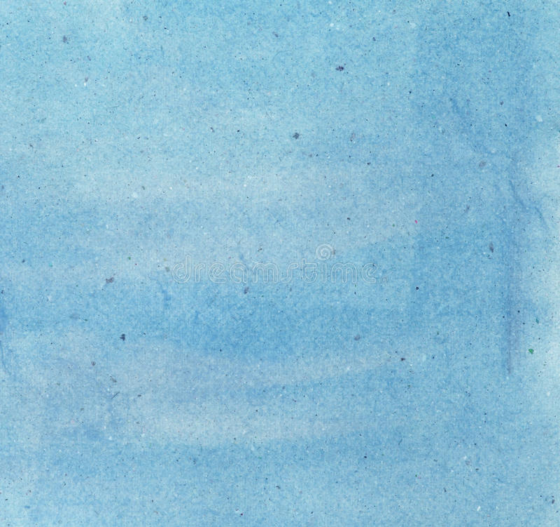 Il colore di acqua sopra ricicla la struttura di carta fotografia stock