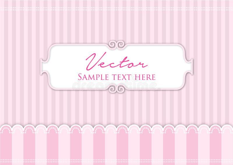 Il colore rosa allinea la priorità bassa royalty illustrazione gratis