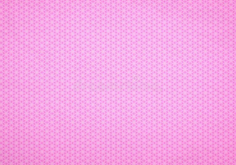 Il colore rosa fiorisce la priorità bassa _1 illustrazione vettoriale