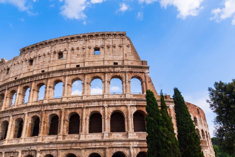 Il Colosseum o il Colosseo, Roma, Italia fotografia stock libera da diritti