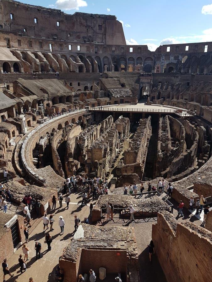 Il Colosseum, Roma, Italia fotografia stock