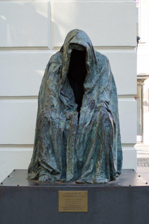 Il Commendatore sculpture stock photo