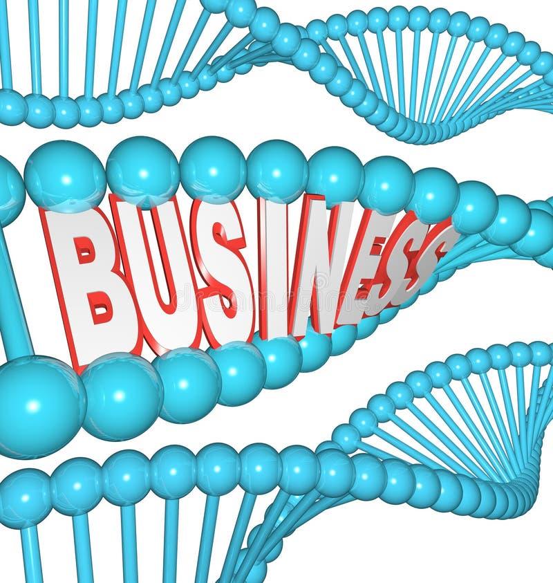 Il commercio è nel vostro azionamento ereditato DNA da riuscire illustrazione vettoriale
