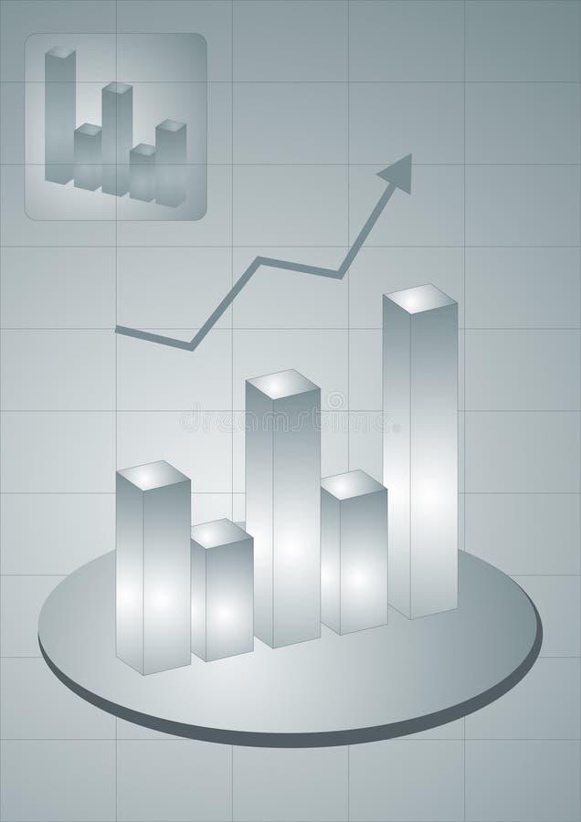 Il commercio si sviluppa illustrazione vettoriale