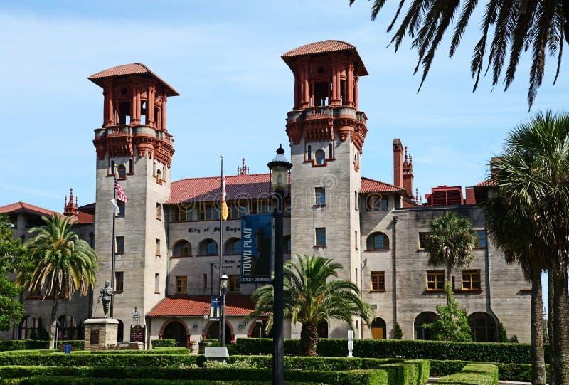 Il comune di St Augustine ed edificio di Lightner fotografia stock libera da diritti