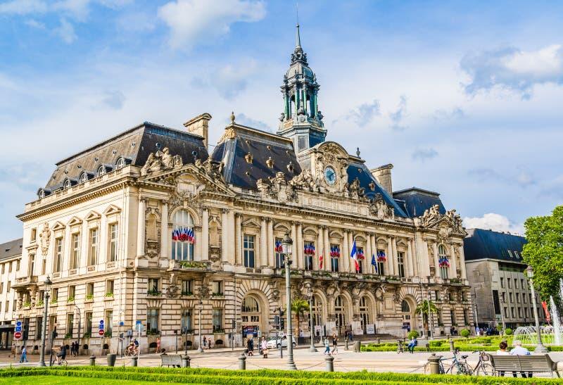 Il comune di Tours, Francia fotografia stock libera da diritti