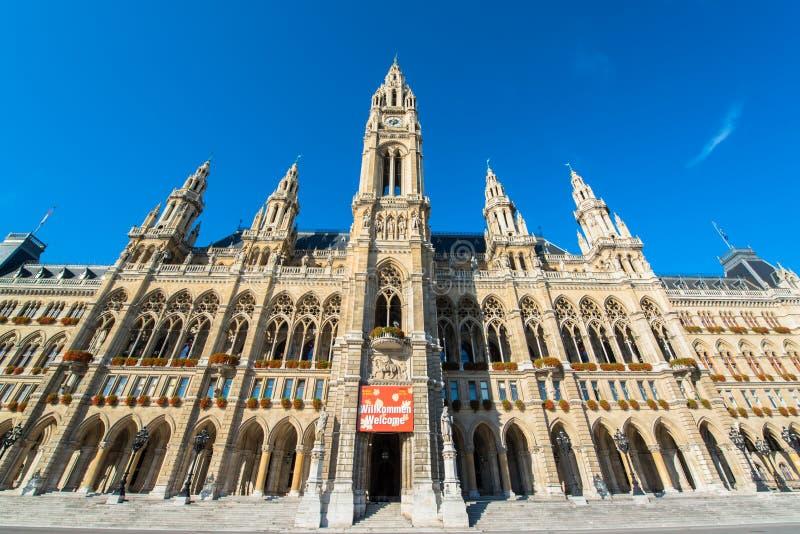 Il comune di Vienna immagini stock