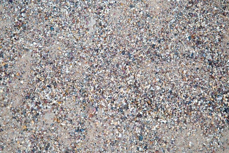 Il contesto della sabbia di costruzione grigia fotografia stock
