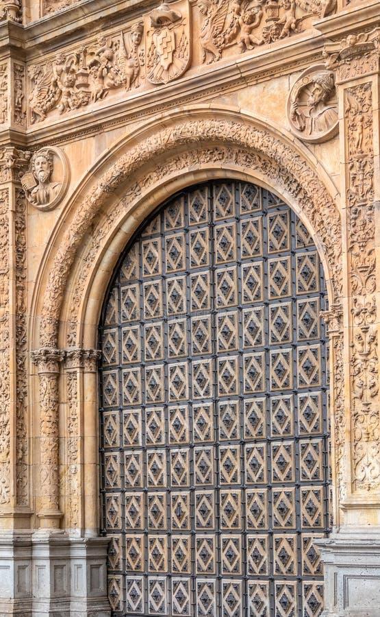 Il Convento de San Esteban, Consiglio di Trent Square, Salamanca, Castiglia e Leone, Spagna immagine stock