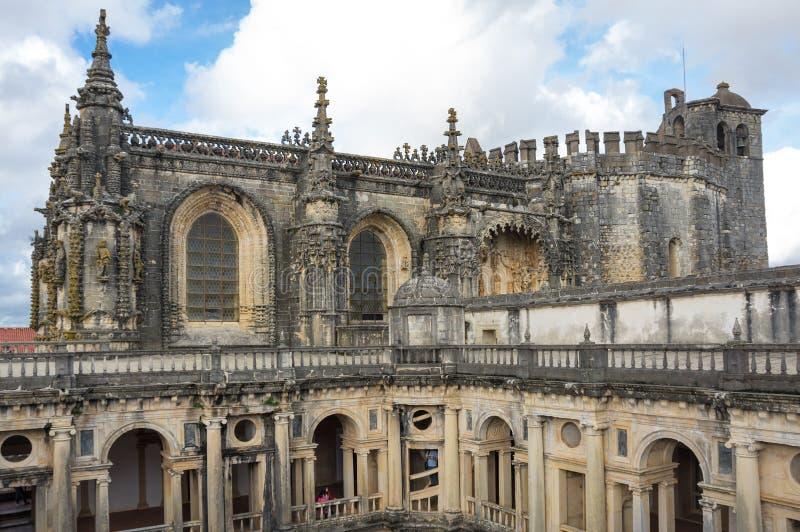 Il convento di Cristo fotografie stock libere da diritti