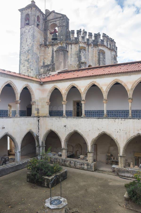 Il convento di Cristo immagine stock libera da diritti