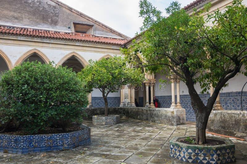 Il convento di Cristo fotografia stock libera da diritti