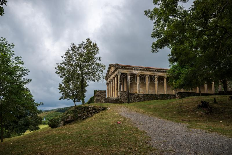 Il copie le temple romain photos libres de droits