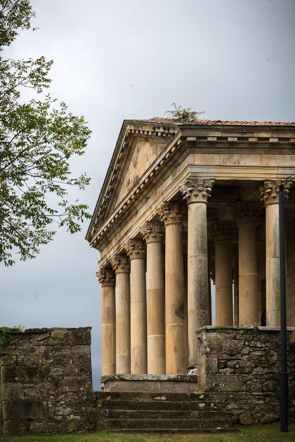 Il copie le temple romain photo libre de droits
