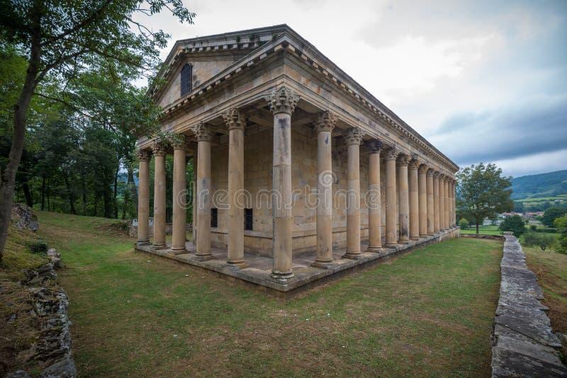 Il copie le temple romain photographie stock