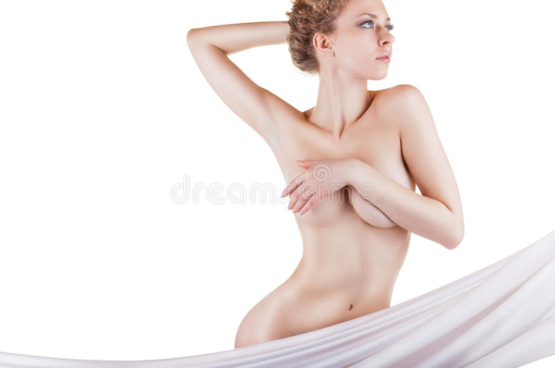 Il corpo della donna fotografie stock