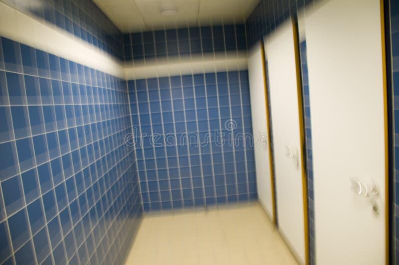 Il corridoio dell'estremità guasto immagini stock