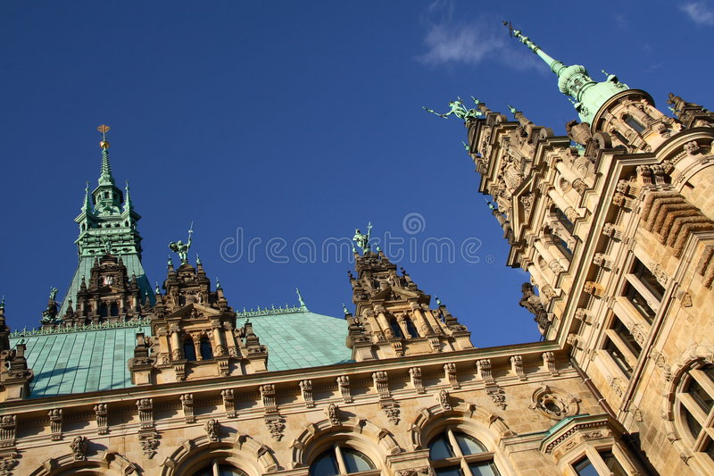 Il corridoio di città di Amburgo fotografia stock libera da diritti