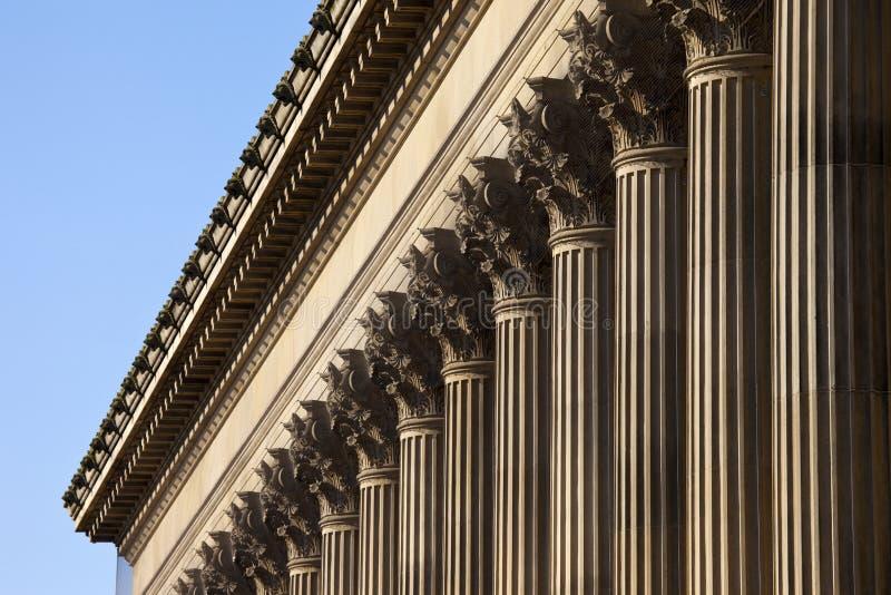 Il Corridoio di St George a Liverpool fotografia stock