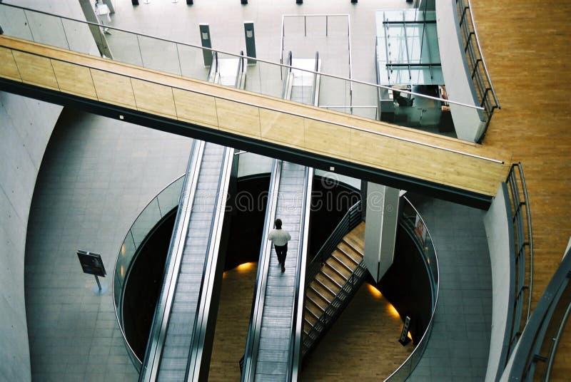 Il corridoio principale fotografia stock