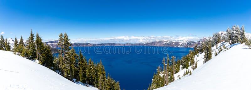 Il Crater Lake National Park è un parco nazionale americano situato nell'Oregon meridionale, quinto parco nazionale degli Stati U immagine stock