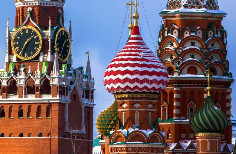 Il Cremlino, Mosca, nuova prospettiva fotografie stock