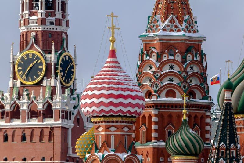 Il Cremlino, Mosca, nuova prospettiva immagine stock libera da diritti