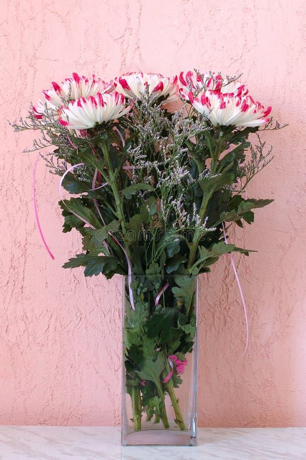 Il crisantemo fiorisce il mazzo. immagine stock