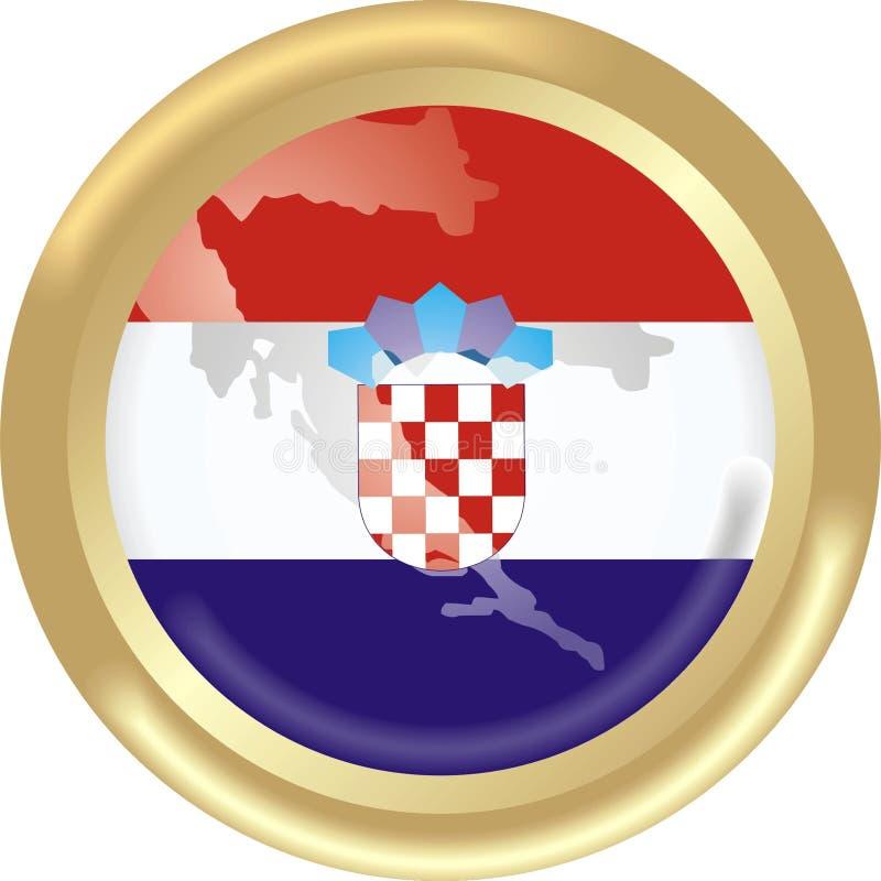 Il Croatia illustrazione di stock