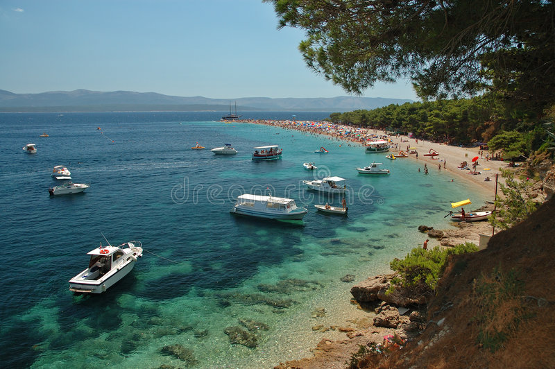 Il Croatia - Brac - Bol immagini stock libere da diritti