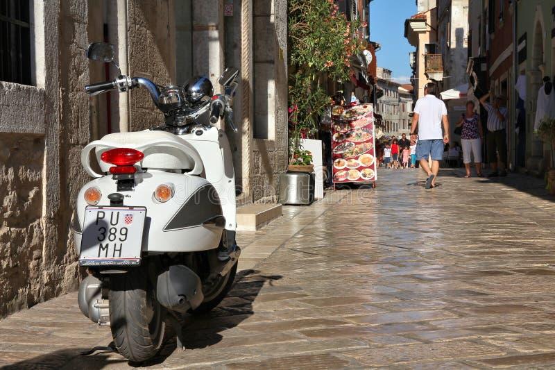 Il Croatia - Porec fotografia stock libera da diritti
