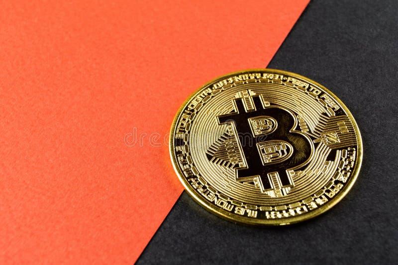 Il cryptocurrency di Bitcoin BTC significa del pagamento nel settore finanziario fotografia stock libera da diritti