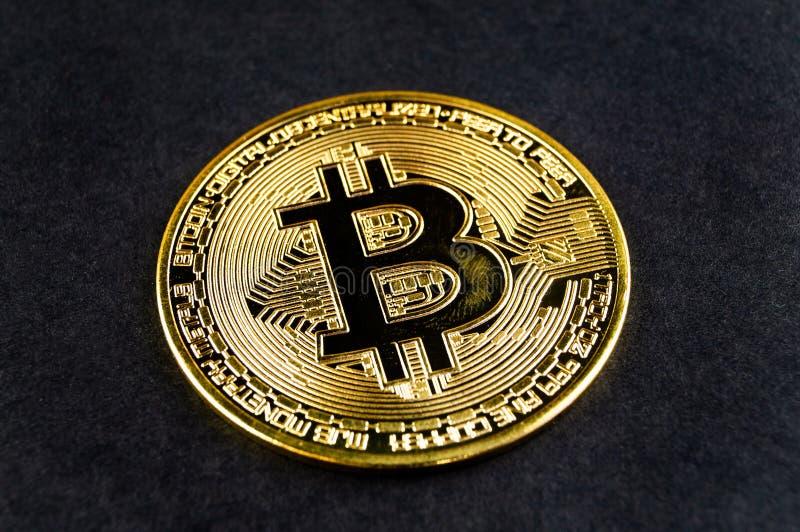 Il cryptocurrency di Bitcoin BTC significa del pagamento nel settore finanziario fotografia stock