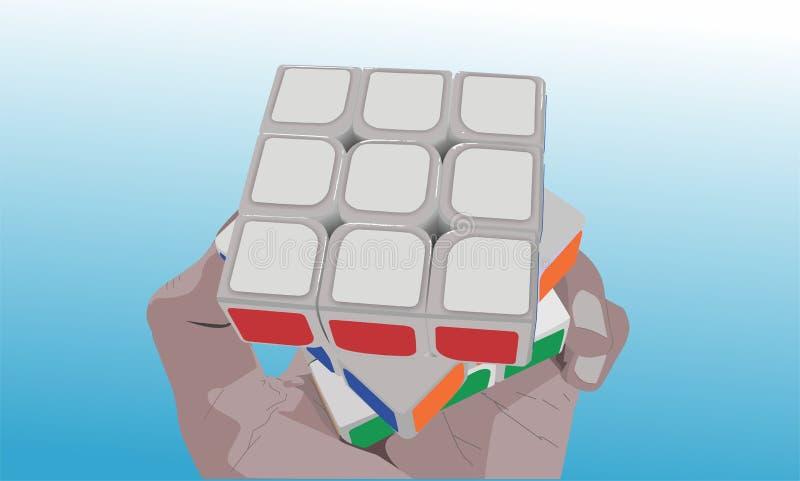 Il cubo immagine stock libera da diritti