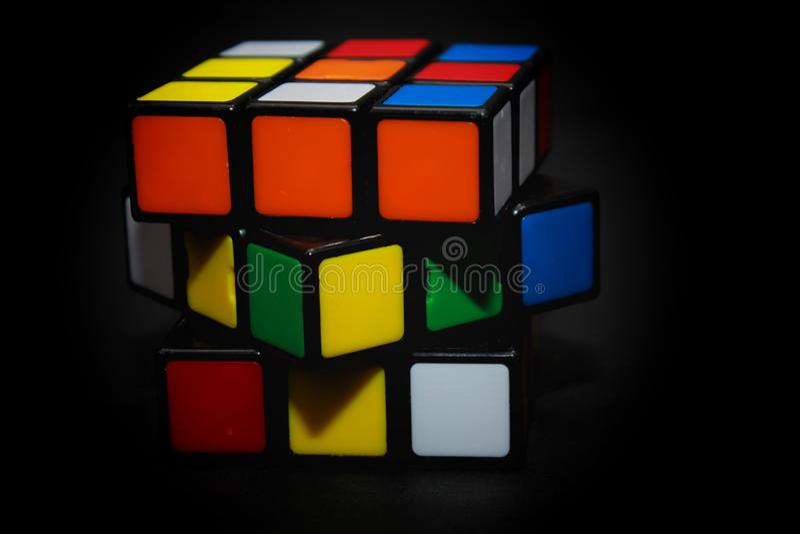 Il cubo di Rubik immagini stock libere da diritti