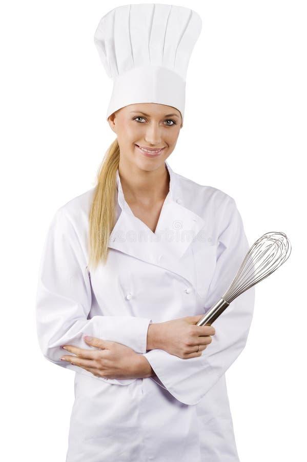 Il cuoco unico fotografia stock