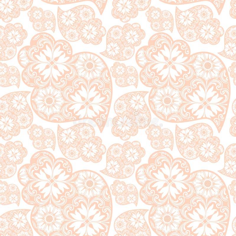 Il cuore di Viana del Portoghese di Traditionall e backgrou delle mattonelle di azulejo illustrazione di stock