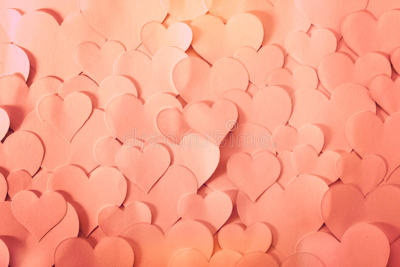 Il cuore ha modellato le carte, molto romantico e sveglio fotografia stock libera da diritti