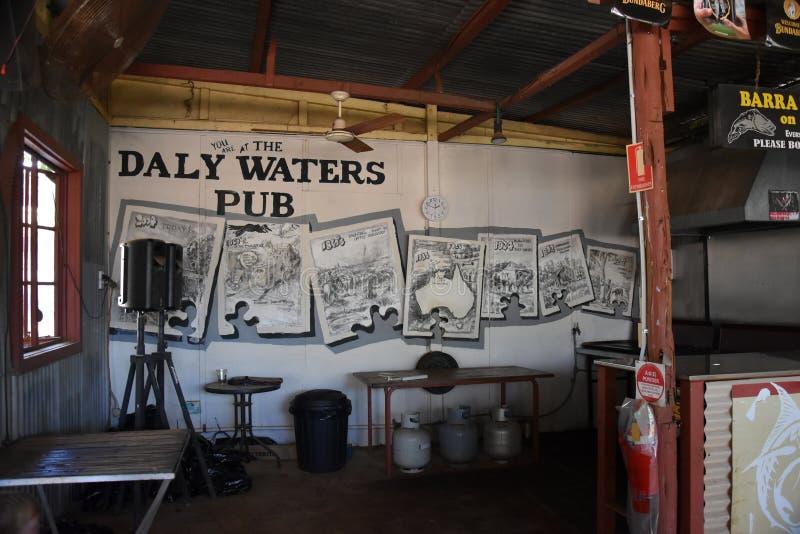 Il Daly famoso innaffia il pub storico fotografia stock