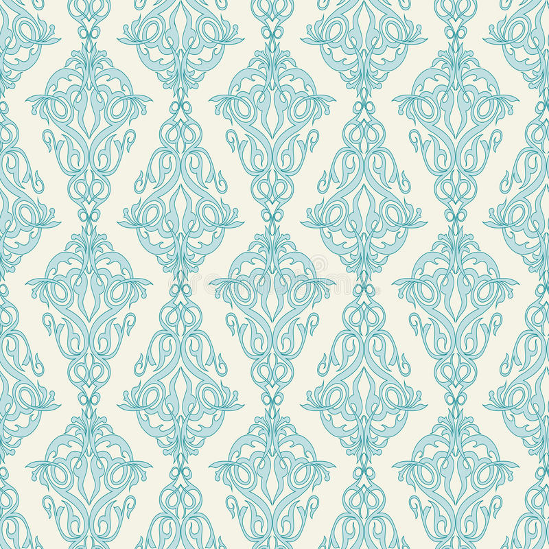 Il damasco Wallpaper royalty illustrazione gratis
