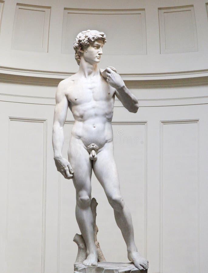 Il David è una scultura famosa, Firenze, Italia fotografia stock libera da diritti