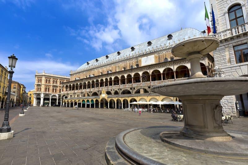 Il della Ragione di Palazzo è vecchio municipio, Padova fotografie stock