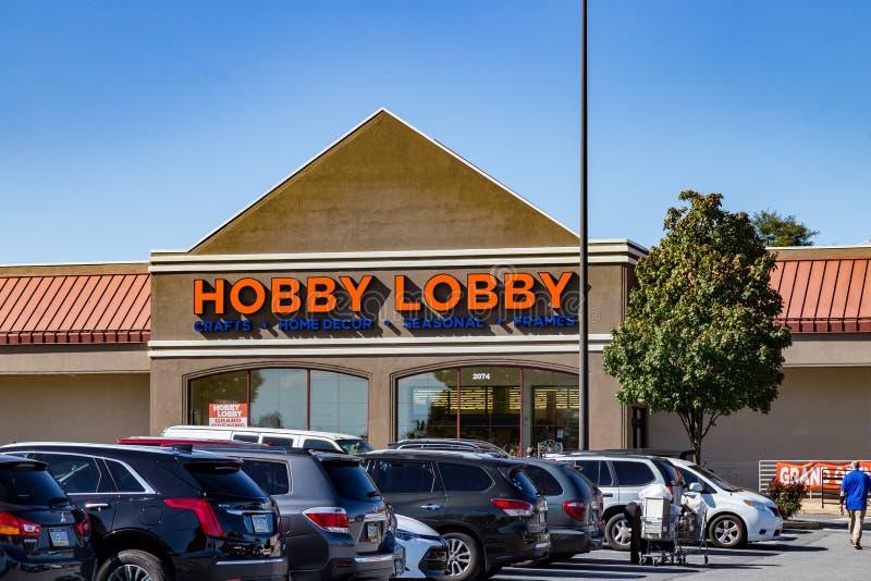 Il deposito dell'ingresso di hobby fotografia stock